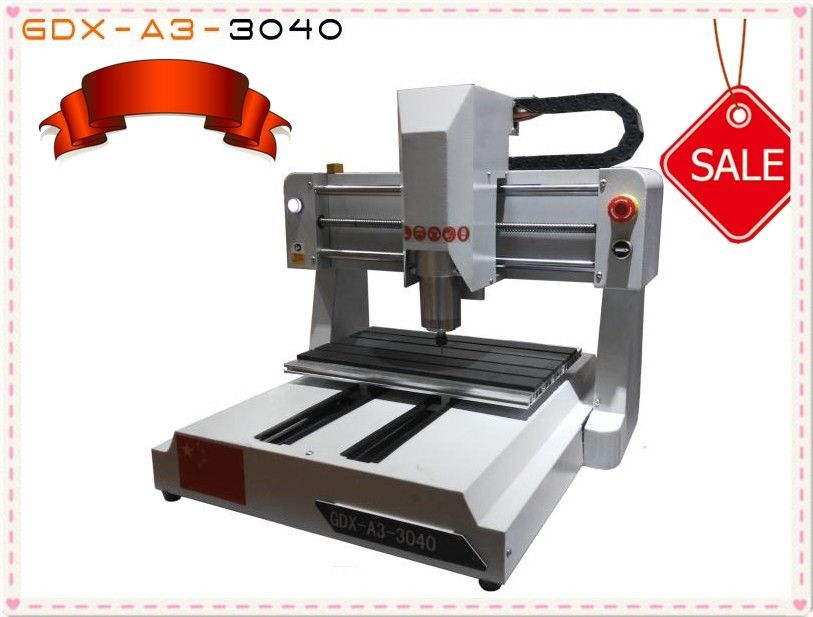 Mini CNC Router Wood Carving Machine , Tabletop CNC Router Machine