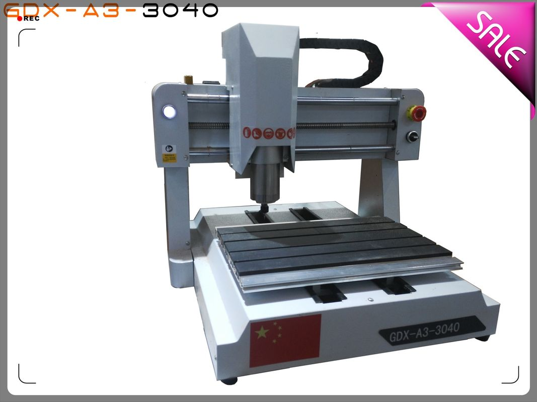 3040 3 Axis Desktop CNC Router Machine For Woodworking And Sign Making