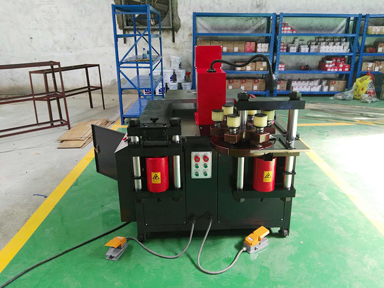 30tons 12x160mm cnc busbar copper cutting machine for electric industrial
